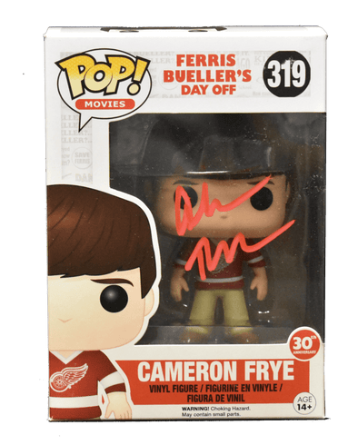 Alan Ruck Authentic Autographed Cameron Frye 319 Funko Pop! Figure - Prime Time Signatures - TV & Film