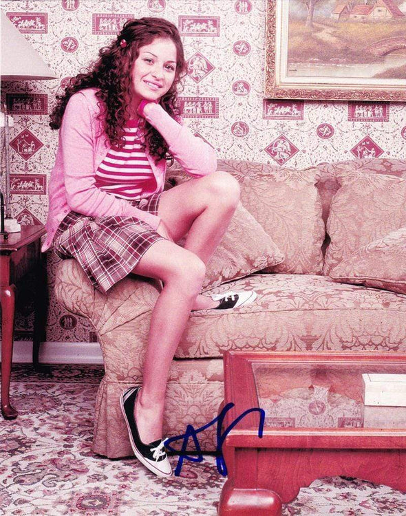 Alia Shawkat Authentic Autographed 8x10 Photo - Prime Time Signatures - TV & Film