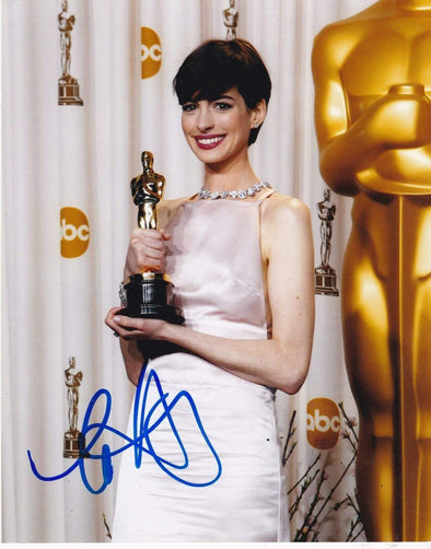 Anne Hathaway Authentic Autographed 8x10 Photo - Prime Time Signatures - TV & Film