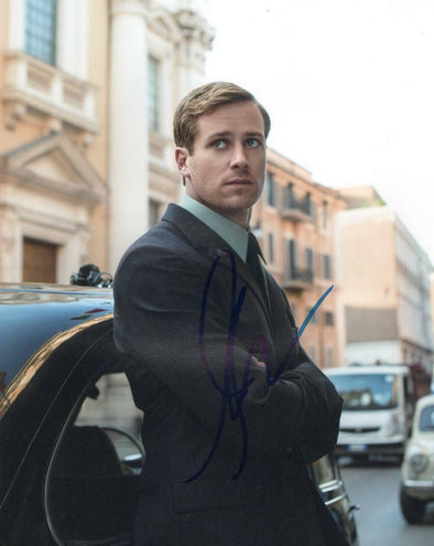 Armie Hammer Authentic Autographed 8x10 Photo - Prime Time Signatures - TV & Film