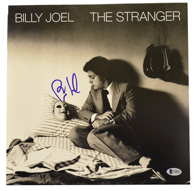 Billy Joel Authentic Autographed Vinyl Record - Prime Time Signatures - Music