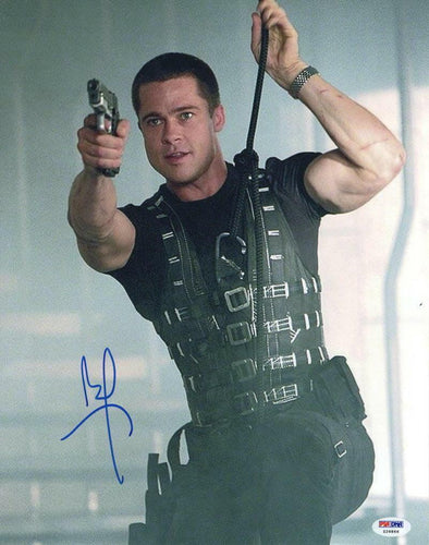 Brad Pitt Authentic Autographed 11x14 Photo - Prime Time Signatures - TV & Film