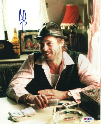 Brad Pitt Authentic Autographed 8x10 Photo - Prime Time Signatures - TV & Film