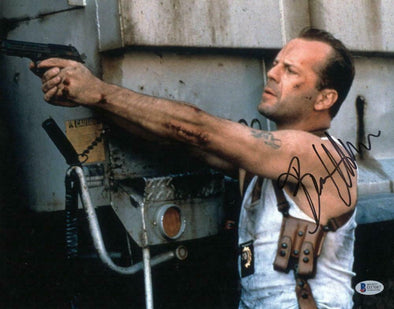 Bruce Willis Authentic Autographed 11x14 Photo - Prime Time Signatures - TV & Film
