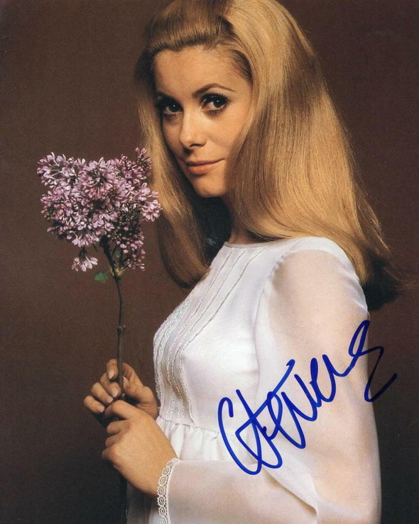 Catherine Deneuve Authentic Autographed 8x10 Photo - Prime Time Signatures - TV & Film