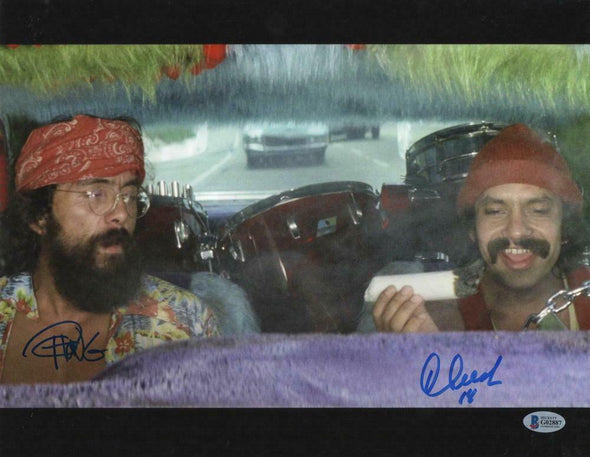 Cheech Marin & Tommy Chong Authentic Autographed 11x14 Photo - Prime Time Signatures - TV & Film