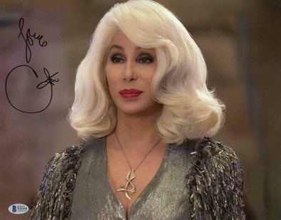 Cher Authentic Autographed 11x14 Photo - Prime Time Signatures - TV & Film