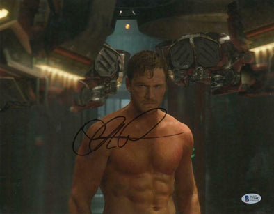 Chris Pratt Authentic Autographed 11x14 Photo - Prime Time Signatures - TV & Film