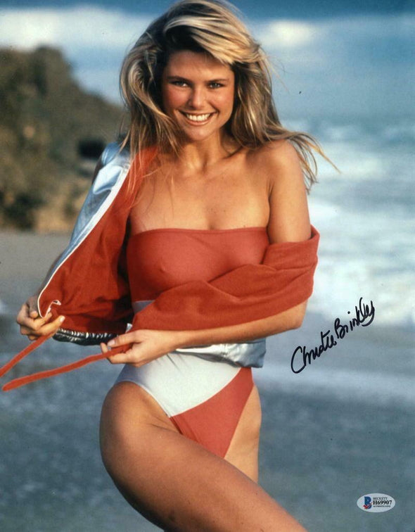 Christie Brinkley Authentic Autographed 11x14 Photo - Prime Time Signatures - TV & Film