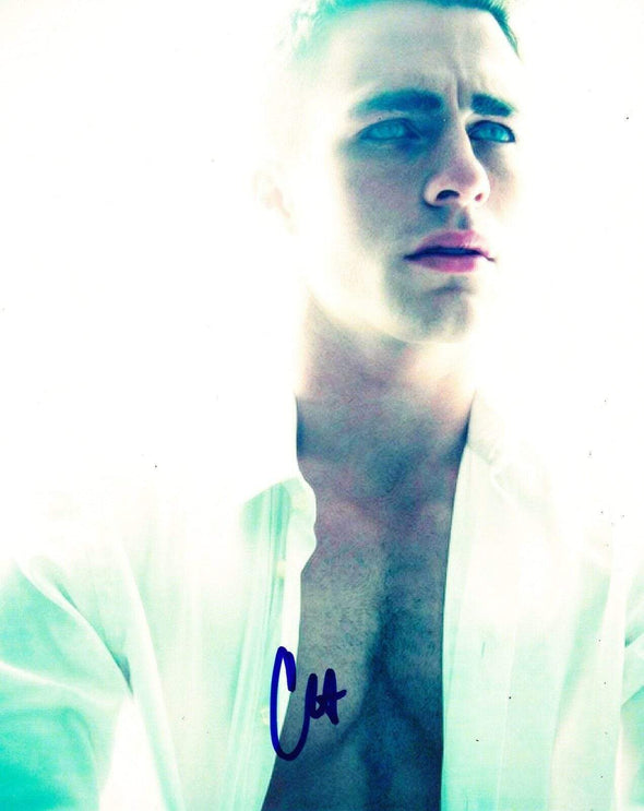 Colton Haynes Authentic Autographed 8x10 Photo - Prime Time Signatures - TV & Film
