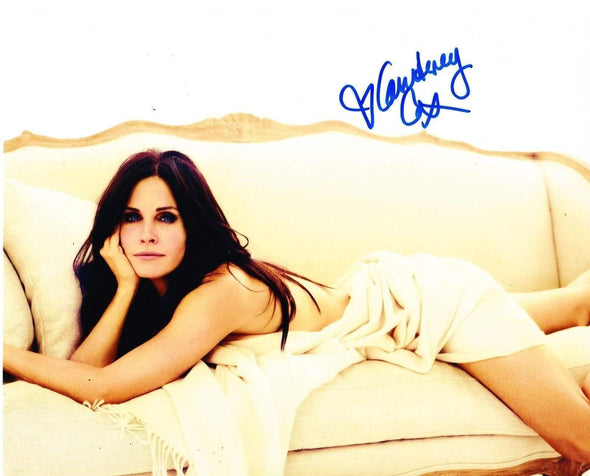 Courteney Cox Authentic Autographed 8x10 Photo - Prime Time Signatures - TV & Film