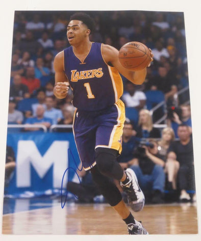 D'Angelo Russell Authentic Autographed 11x14 Photo - Prime Time Signatures - Sports