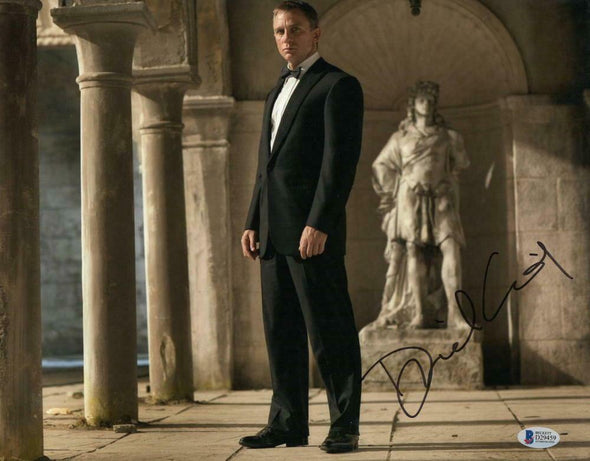 Daniel Craig Authentic Autographed 11x14 Photo - Prime Time Signatures - TV & Film
