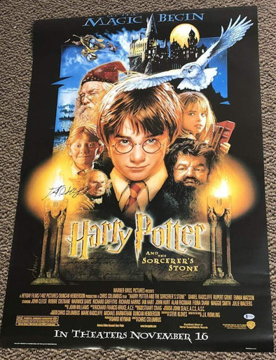 Daniel Radcliffe Authentic Autographed Full Size Poster - Prime Time Signatures - TV & Film