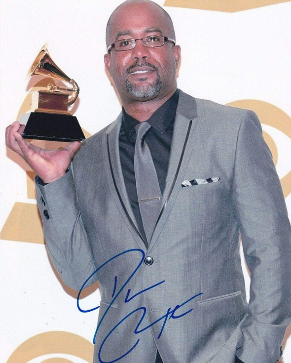 Darius Rucker Authentic Autographed 8x10 Photo - Prime Time Signatures - Music