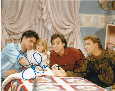 Dave Coulier, John Stamos Authentic Autographed 8x10 Photo - Prime Time Signatures - TV & Film