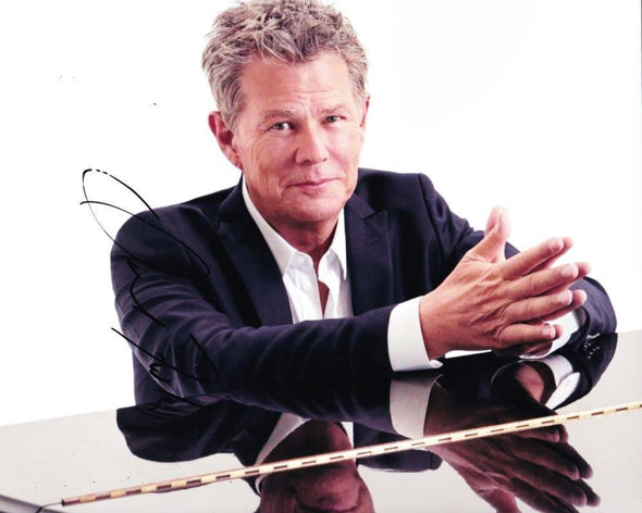 David Foster Authentic Autographed 8x10 Photo - Prime Time Signatures - Music