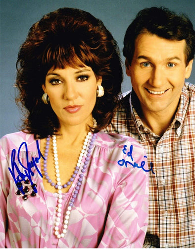 Ed O'Neill, Katey Sagal Authentic Autographed 8x10 Photo - Prime Time Signatures - TV & Film