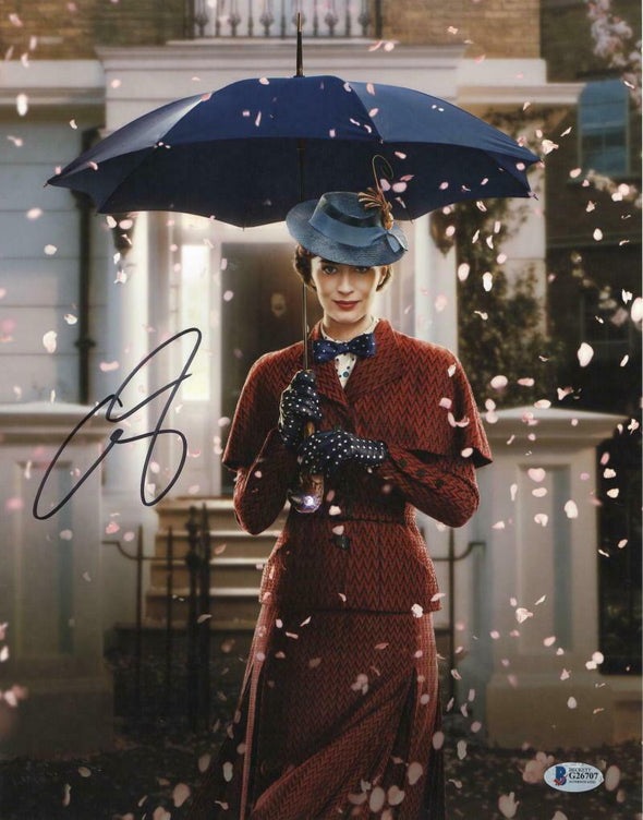 Emily Blunt Authentic Autographed 11x14 Photo - Prime Time Signatures - TV & Film