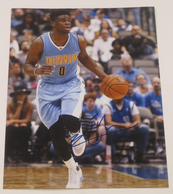 Emmanuel Mudiay Authentic Autographed 11x14 Photo - Prime Time Signatures - Sports