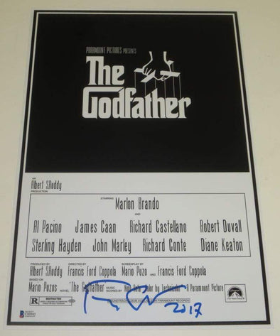Francis Ford Coppola Authentic Autographed 12x18 Photo - Prime Time Signatures - TV & Film