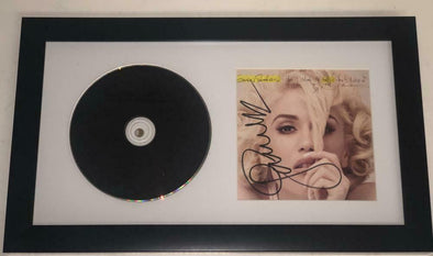 Gwen Stefani Authentic Autographed Framed CD - Prime Time Signatures - Music