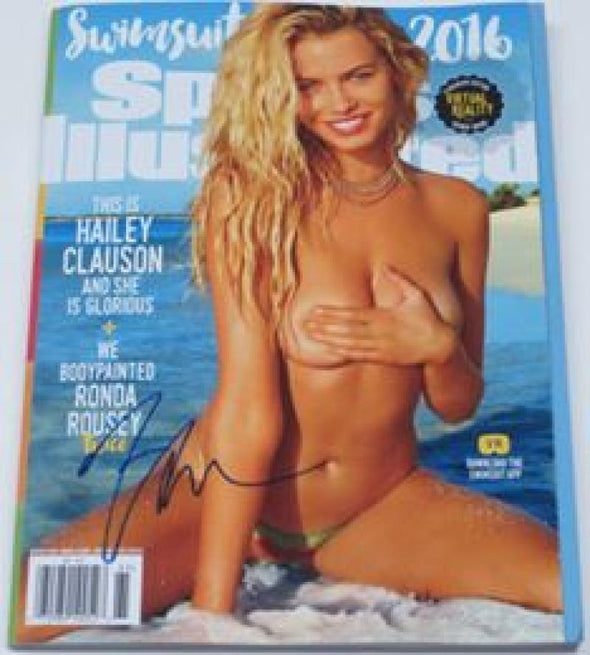 Hailey Clauson Authentic Autographed Sports Illustrated Swimsuit 2016 Magazine - Prime Time Signatures - Personality