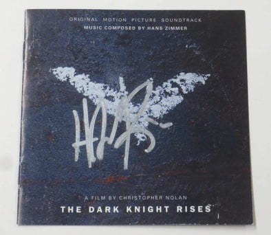Hans Zimmer Authentic Autographed The Dark Knight Rises CD Booklet - Prime Time Signatures - Music