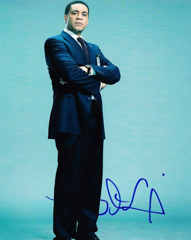 Harry Lennix Authentic Autographed 8x10 Photo - Prime Time Signatures - TV & Film