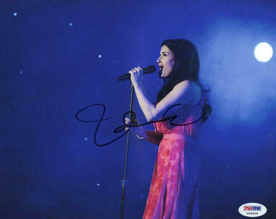 Idina Menzel Authentic Autographed 8x10 Photo - Prime Time Signatures - TV & Film