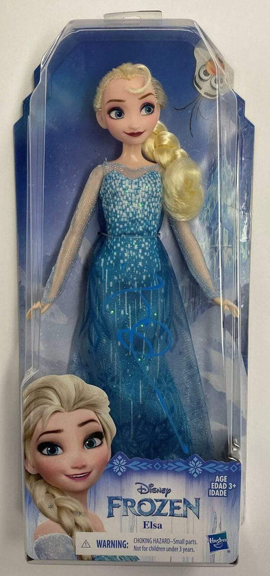 Idina Menzel Authentic Autographed 'Elsa' Frozen Doll - Prime Time Signatures - TV & Film