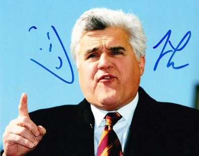 Jay Leno Authentic Autographed 8x10 Photo - Prime Time Signatures - TV & Film