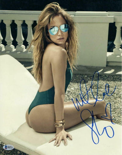 Jennifer Lopez Authentic Autographed 11x14 Photo - Prime Time Signatures - Music