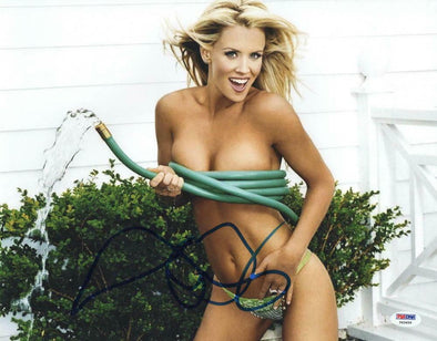 Jenny McCarthy Authentic Autographed 11x14 Photo - Prime Time Signatures - Personality