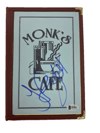 Jerry Seinfeld Authentic Autographed Seinfeld Monk's Menu Replica Prop - Prime Time Signatures - TV & Film