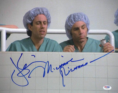 Jerry Seinfeld, Michael Richards Authentic Autographed 11x14 Photo - Prime Time Signatures - TV & Film