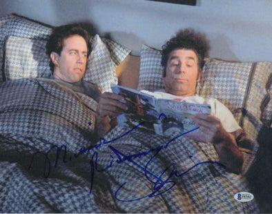 Jerry Seinfeld & Michael Richards Authentic Autographed 11x14 Photo - Prime Time Signatures - TV & Film