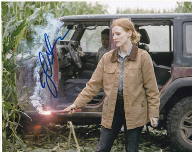 Jessica Chastain Authentic Autographed 8x10 Photo - Prime Time Signatures - TV & Film