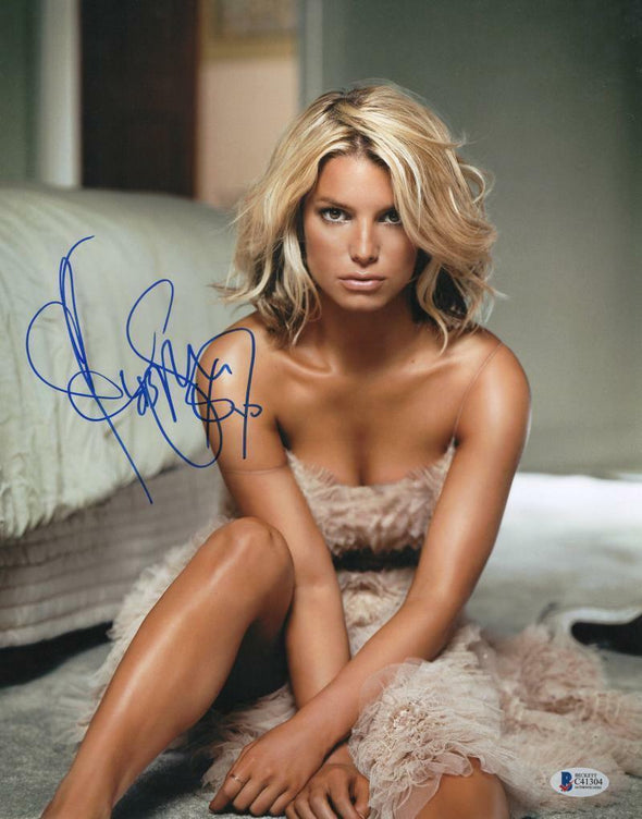 Jessica Simpson Authentic Autographed 11x14 Photo - Prime Time Signatures - Music