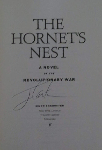 Jimmy Carter Authentic Autographed The Hornets Nest Hardcover Book - Prime Time Signatures - Politics