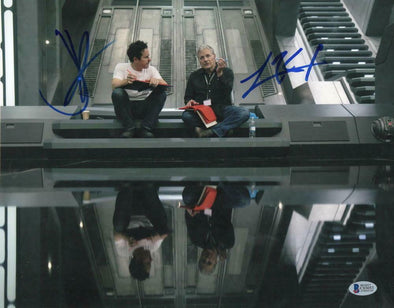 JJ Abrams & Lawrence Kasdan Authentic Autographed 11x14 Photo - Prime Time Signatures - TV & Film