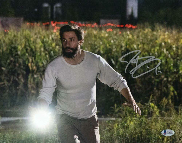 John Krasinski Authentic Autographed 11x14 Photo - Prime Time Signatures - TV & Film