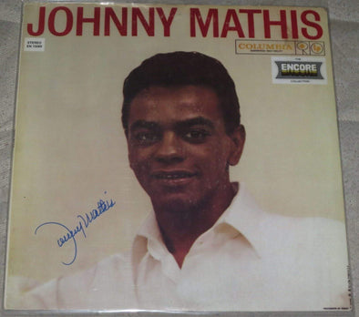 Johnny Mathis Signed Vinyl - Prime Time Signatures - Music
