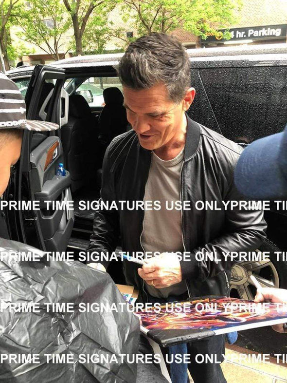 Josh Brolin Authentic Autographed 11x14 Photo - Prime Time Signatures - TV & Film