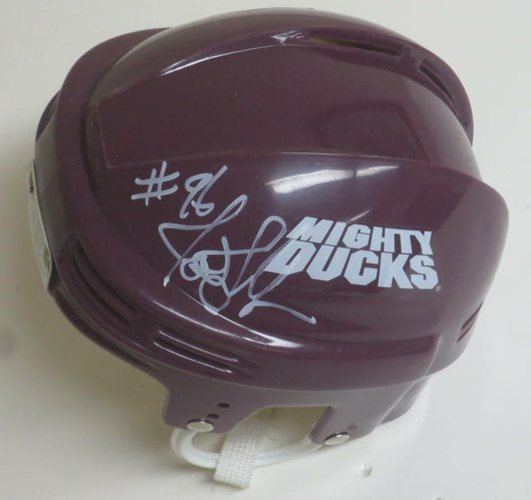 Joshua Jackson Authentic Autographed Mighty Ducks Mini-Helmet - Prime Time Signatures - TV & Film