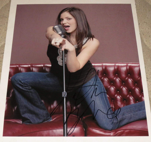 Katharine McPhee Authentic Autographed 11x14 Photo - Prime Time Signatures - Music