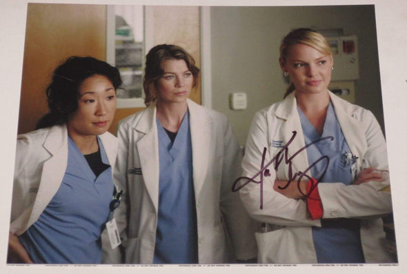 Katherine Heigl Authentic Autographed 8x10 Photo - Prime Time Signatures - TV & Film