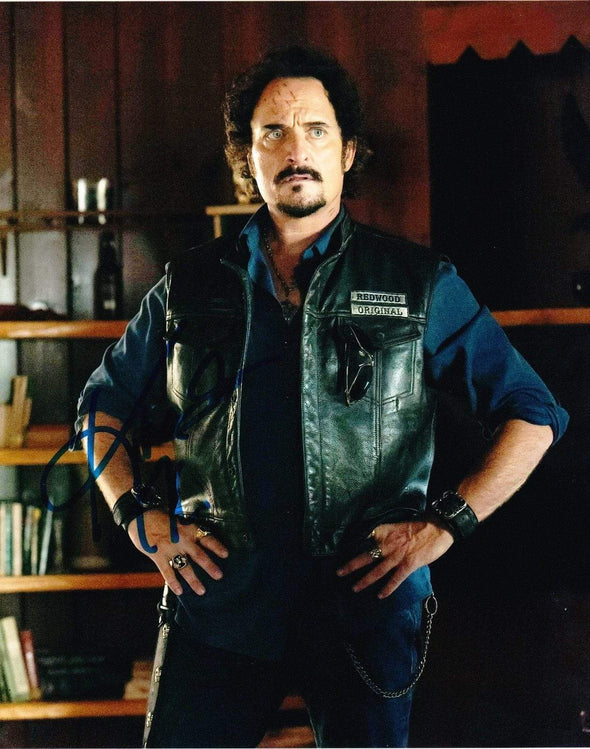 Kim Coates Authentic Autographed 8x10 Photo - Prime Time Signatures - TV & Film