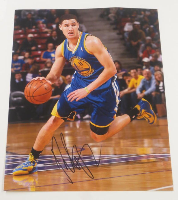 Klay Thompson Authentic Autographed 11x14 Photo - Prime Time Signatures - Sports