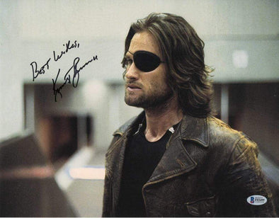Kurt Russell Authentic Autographed 11x14 Photo - Prime Time Signatures - TV & Film